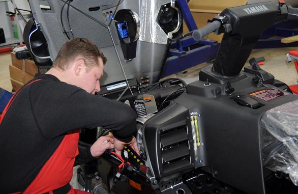 ремонт лодочного мотора дубна